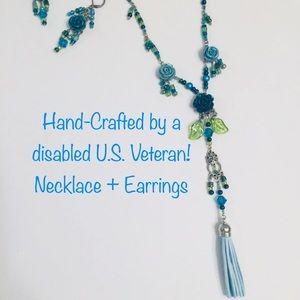 Jewelry - NIB Czech Glass Bead Necklace Set